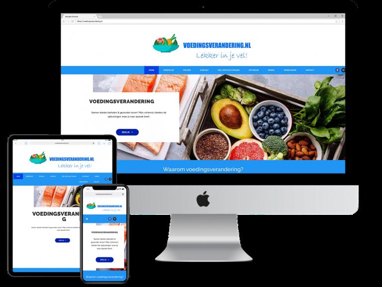 Voedingsverandering.nl - website door HOFOZ